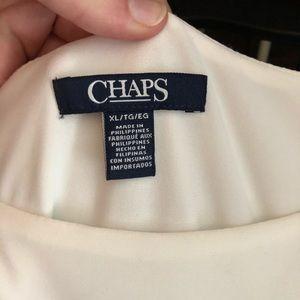 CHAPS Ralph Lauren sleeveless dress
